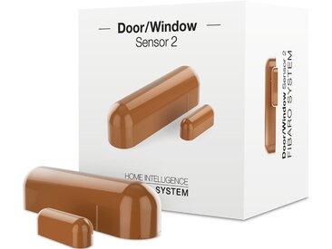 Fibaro Smart Home Zubehör »Tür- und Fensterkontakt 2 - Z-Wave Plus«, braun, Hellbraun