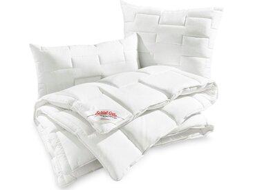 Schlaf-Gut Baumwollbettdecke, »Utah«, leicht, (1-tlg), weiß