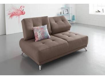 Bruno Banani bruno banani 2-Sitzer Sofa mit Steppung, natur, beige
