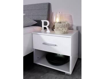 rauch PACKs Nachttisch »Halle«, Breite 47 cm, weiß, weiß