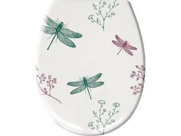 Kleine Wolke KLEINE WOLKE WC-Sitz »Scarlett«, türkis/lila