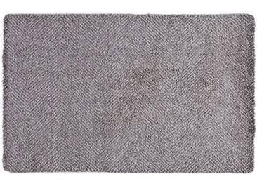 HANSE Home Fußmatte »Clean & Go«, rechteckig, Höhe 7 mm, waschbar, grau, 7 mm, grau