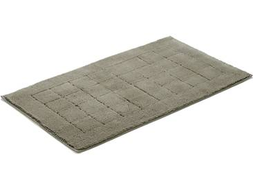 Vossen Badematte »Exclusive« , Höhe 20 mm, rutschhemmend beschichtet, fußbodenheizungsgeeignet, grau, 20 mm, pepplestone