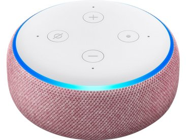 Echo Alexa Dot (3. Generation) Mono Smart Speaker (WLAN (WiFi), Bluetooth), lila, lila