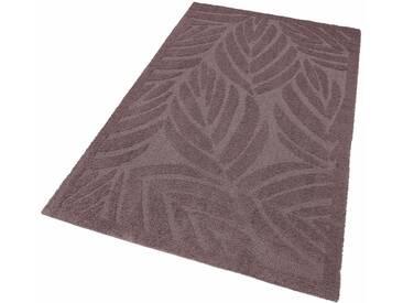 my home Selection Hochflor-Teppich »Jordi«, rechteckig, Höhe 32 mm, Besonders weich durch Microfaser, lila, 32 mm, lila