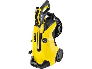 KÄRCHER Hochdruckreiniger »K 4 Premium Full Control Home«, mit umfangreichem Zubehör, gelb, gelb