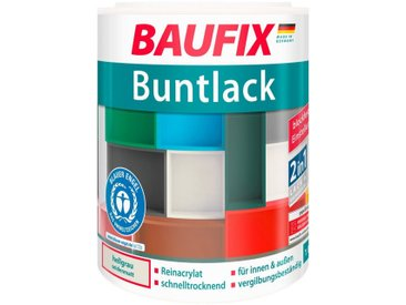 Baufix BAUFIX Acryl Buntlack seidenmatt hellgrau, 1 l, grau, 1 l, grau