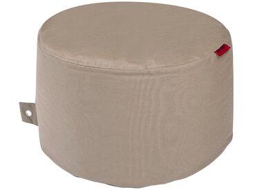 OUTBAG Sitzsack »Rock Plus«, wetterfest, für den Außenbereich, Ø: 60 cm, braun, braun