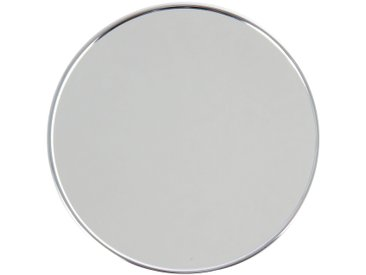 MSV Badspiegel »Kosmetikspiegel«, 5-fach Vergrößerung, mit Saugnäpfen, silberfarben, silberfarben