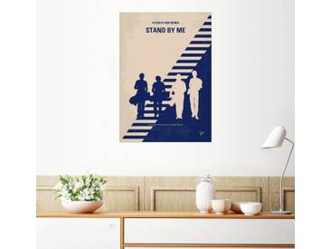 Posterlounge Wandbild - chungkong »No429 My Stand by me minimal movie poster«, natur, Forex, 70 x 100 cm, naturfarben