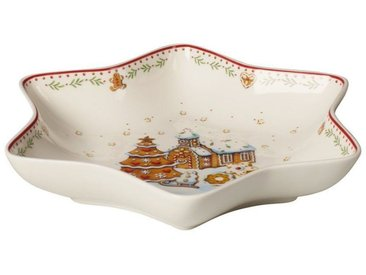 Villeroy & Boch Mittelgroße Sternschale »Winter Bakery Delight«, rot, 24,5cm, rot,bunt