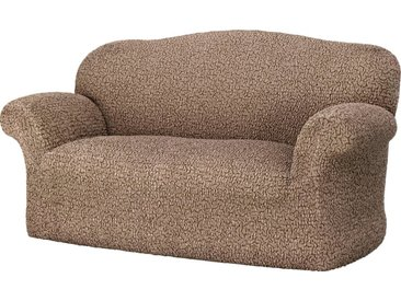 GAICO Sofahusse »Venere«, monoelastische Microfaser Qualität, braun, 2-Sitzer, braun