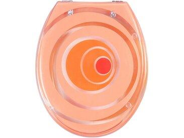 ADOB WC-Sitz »Miami«, mit Metallscharnieren, orange