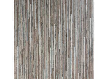 Andiamo ANDIAMO Vinyl-Boden »York braun - metallic«, Meterware in 400 cm Breite, braun, 1 x 400 cm, braun/silber