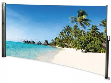 Seitenmarkise Südsee - Foto Windschutz Sichtschutz Links160 x 300 cm
