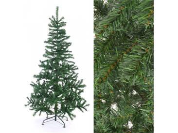 Künstlicher Weihnachtsbaum Plastik Tannenbaum Metallfuß Höhe ca 180 cm