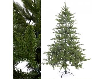 Künstlicher Weihnachtsbaum Tannenbaum Spritzguss 210 cm hoch