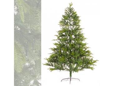 Künstlicher Weihnachtsbaum mit Beleuchtung 340 LEDs Tannenbaum 180 cm