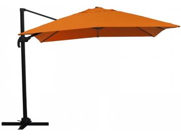 Ampelschirm Sonnenschirm schwenkbar 3x3 m orange Sonnenschutz UV50+