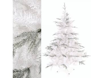 Künstlicher Weihnachtsbaum 999 Spitzen 180cm weiß Spritzguss Mix