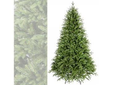 Künstlicher Weihnachtsbaum 180 cm hoch Spritzguss dicht viele Zweige