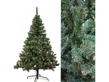 Künstlicher Weihnachtsbaum 240 cm mit 350 LED Beleuchtung Christbaum