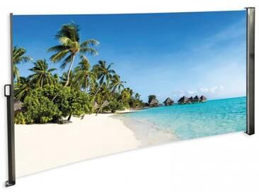 Seitenmarkise Südsee - Foto Windschutz Sichtschutz Rechts 160 x 300 cm