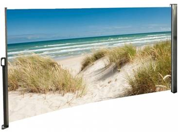 Seitenmarkise Ostsee - Foto Windschutz Sichtschutz Rechts 160 x 300 cm
