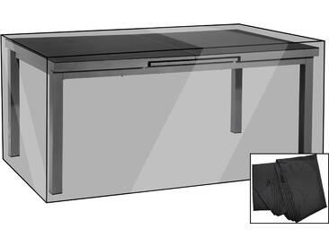 OUTFLEXX Premium Abdeckhaube, für Esstische, schwarz, 222 x 122 x 74 cm, wasserbeständig