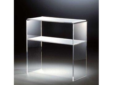 Flur Konsolentisch aus Acrylglas Weiß