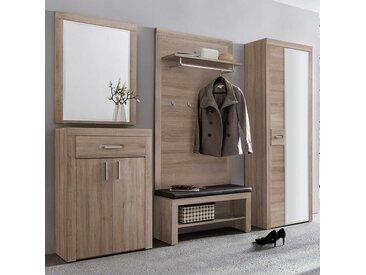 Garderobe in Sonoma-Eiche komplett (5-teilig)