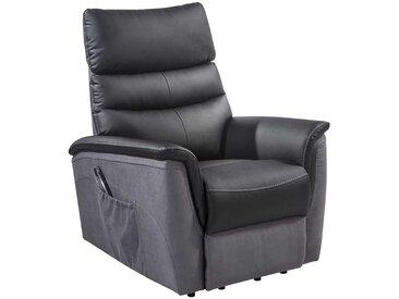 TV Sessel in Schwarz Aufstehhilfe