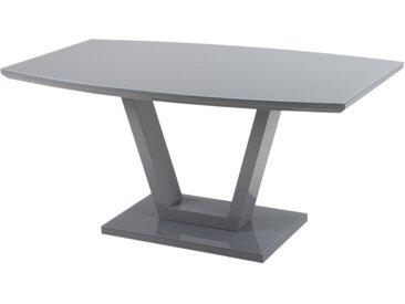 Küchentisch in Grau 160 cm breit