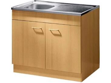 Küchenunterschrank Mit Spülbecken Edelstahl