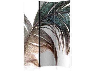 Spanische Trennwand mit Feder Motiv 135 cm breit