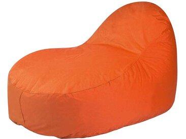 Outdoor Sitzsack in Orange Polyester