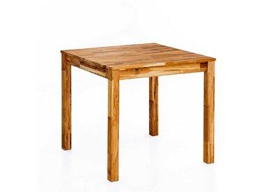 Echtholztisch aus Eiche Massivholz modern