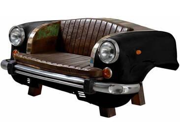 Auto Couch im Retro Style Schwarz Bunt