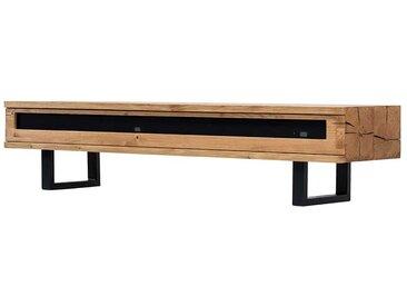 Fernseher Tisch aus Eiche Massivholz Loft Design