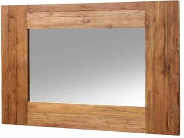 Spiegel mit Altholzrahmen Teak massiv