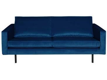 Retro Couch in Blau modern