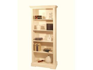 Bücher Standregal in Weiß