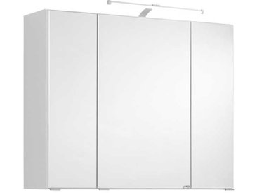 Bad Spiegelschrank in Weiß 3D