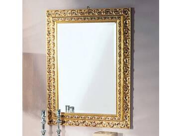 Design Spiegel in Goldfarben Barock Look