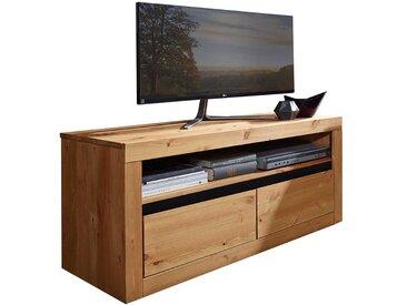 Fernsehmöbel aus Kiefer Massivholz zwei Schubladen
