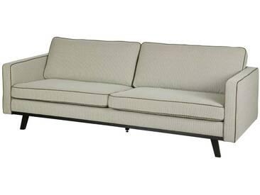Design Sofa im Retro Look Grün gemustert