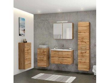 Möbel Komplettset für Badezimmer LED Beleuchtung (5-teilig)