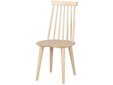 Esszimmerstuhl Set in Holz massiv White Wash (4er Set)