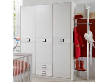 Kinderzimmer Schrank in Weiß