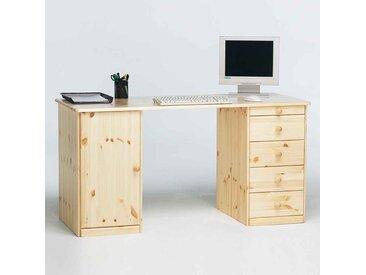 Massivholz Schreibtisch aus Kiefer 150 cm